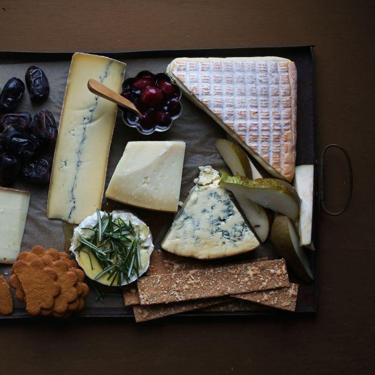 Jouluinen juustotarjotin