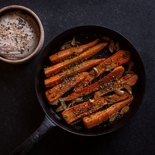 Christmas with Kaisa paahdetut porkkanat